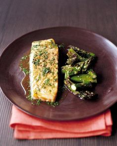 Roasted Salmon with Lime and Cilantro Recipe