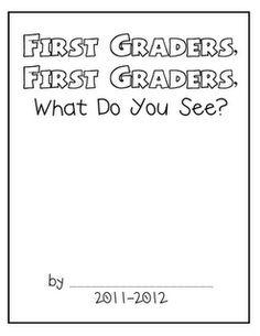 first grade book class books, classroom, class book ideas, 1st grade beginning of year, school ideas for first grade, beginning of the year grade 1, brown bear, beginning of 1st grade ideas, first grade books