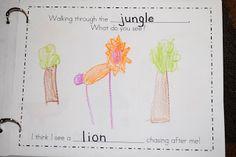 Mrs. Ricca's Kindergarten: Class Books