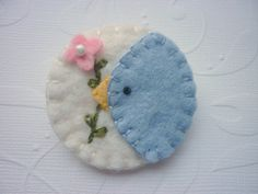 bluebird pin brooch