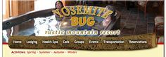 Yosemite Bug - Rustic Mountain Resort - Cabins, Restaurant, Health Spa, Hostel