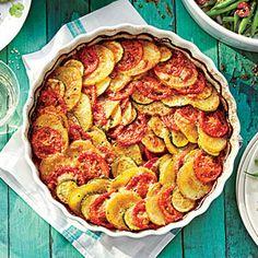 Zucchini-Potato Casserole | MyRecipes.com