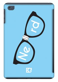 Nerd Blue iPad Mini case