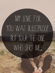 Bulletproof Love Lyrics | Tumblr- Pierce The Veil