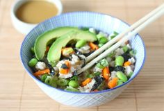Sushi salad - this looks amazing!!