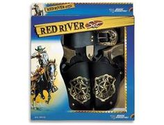 The Edison Red River Gift Set is two 8 shot cap guns with holsters that is perfect for children and adults to play with. This model comes complete in a display box. The Edison 8 shot superdisc caps are suitable for use with this model.
