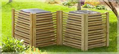 DIY Compost Bin Screens (or any thing unsightly you want to cover like an air conditioner)