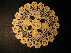 Hookalike's crochet...Irish Rose Doily