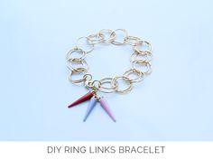 DIY chainmail bracelet