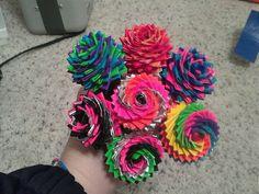 swirling flower pens