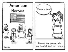 American Heroes (8 page) Reader: BLACK HISTORY MONTH. Simple text; features: MLK Jr, Rosa Parks, Harriet Tubman and Rosa Parks. $