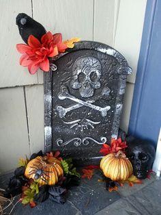 Dollar store Halloween creation