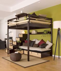 decor, idea, lofts, stuff, adult loft beds, doubl loft, space, design, bedroom