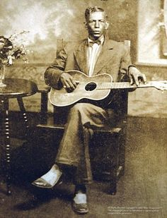Charlie Patton - Cherokee/African American/Euro-American - 1929 {Note: Charlie Patton was a well known Delta Blues musician.}