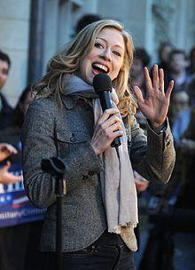 Chelsea Clinton, daughter of former U.S. President Bill Clinton. (Stanford University)