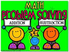 Problem Solving - Addition & Subtraction Story Problems from All Students Can Shine on TeachersNotebook.com (43 pages)  - This pack contains 20 addition story problems and 20 subtraction story problems. That's 40 problems in all!!