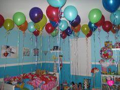 Wake up to birthday balloons!