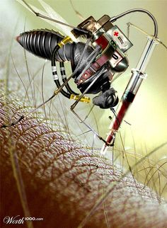 Steampunk mosquito..
