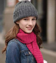 Adult's Easy Crochet Hat and Scarf & Seasonal Projects: Fall at Joann.com