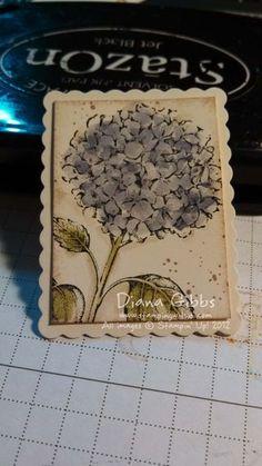 Diana used Best of Flowers to create her Mini Masterpiece treasure.