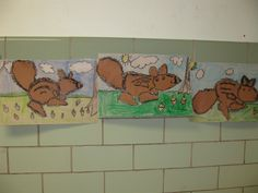 Torn Paper Squirrels, gr.1