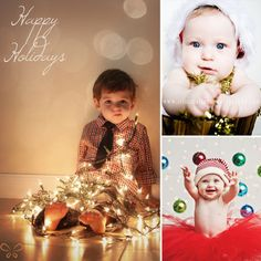 christmas picture ideas for baby and toddler