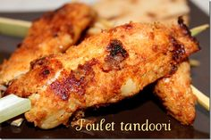 poulet tandoori (avec riz basmati anisé/+ouzo