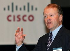 The 8 Most Overpaid CEOs - #1 Cisco Systems, 18.8 million salary while stocks fell 31.4%