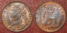 Found one of these, and a few other old coins while cleaning out my room. U.K. Victoria One Penny1879