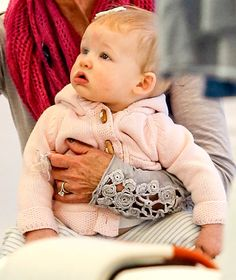 Jessica Simpson's Daughter Maxwell at 8 months