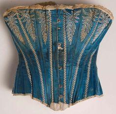 1890 corset.