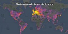 World's most photographed places