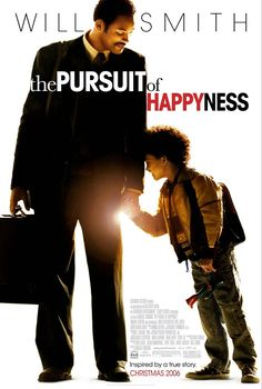 The Pursuit of Happyness is a 2006 American biographical drama film based on Chris Gardner's nearly one-year struggle with homelessness. Directed by Gabriele Muccino, the film features Will Smith as Gardner, an on-and-off-homeless salesman-turned stockbroker. Smith's real-life son Jaden Smith co-stars, making his film debut as Gardner's son Christopher Jr. The screenplay by Steven Conrad is based on the best-selling memoir written by Gardner with Quincy Troupe. The film was released on December 15, 2006, by Columbia Pictures. For his performance, Will Smith was nominated for an Academy Award and a Golden Globe for Best Actor.