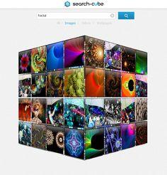 Search-Cube - Search, Spin, Explore.
