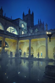 Bath / Somerset, UK - Roman Baths