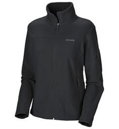 Columbia Women's Fast Trek II Full Zip Fleece Jacket, Black, Large $43.23 #Columbia #Jackets #Blazers