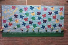 May Birthday Bulletin Board -Butterflies