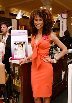 Want her locks! Elaine Welteroth
