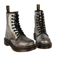 Dr. Martens Wmoens Boots 1460 Vintga Punk Light Gray $125.00 lights, gir shoe, fashion place, hairstyles, news, dr martens shoes, ohmagah shoe, boots