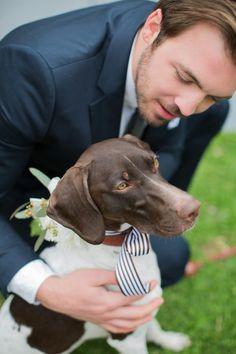 pup at a wedding! | Rachel Moore #wedding