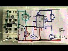 Dark sensor using 555- www.buildcircuit.com