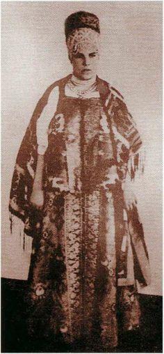 Народный костюм Русского Севера- North  Russian folk costume