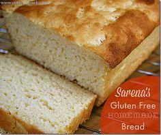 Homemade Gluten Free & Dairy Free Bread via @Sarena Shasteen and @Lindsay Cotter  #glutenfree #baking