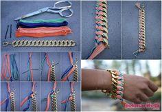 Zincirli ipli bileklik yapımı | Takı Tasarım | Pek Marifetli!