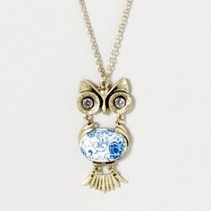 Owl Hang With U Necklace | Claire's