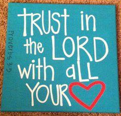 Heart Scripture Canvas