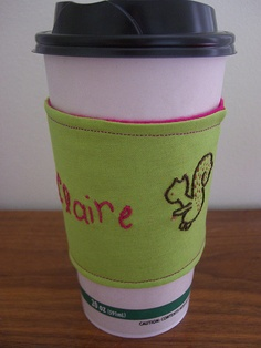 to go cup coffee sleeve