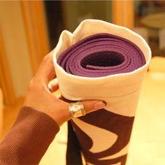 Make Your Yoga Mat Bag