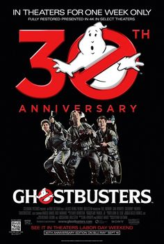 Ghostbusters - In select theatres for a full week starting 8.29.14