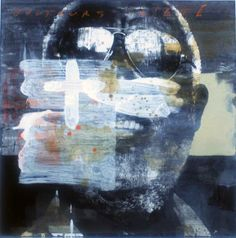 "François Bard, Toujours l'été, 2012, Mixed Medium on Paper, 23"" x 22¾""  #Art #BDG #BDGNY #Contemporary #Painting"